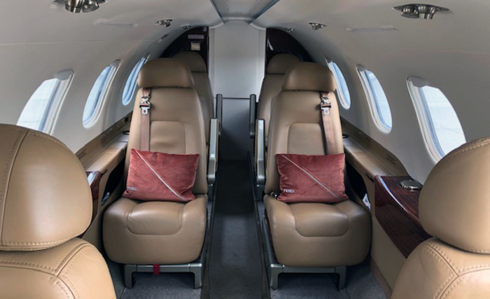Avcon Jet Embraer Phenom 300 cabin