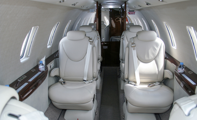 Avcon Jet Cessna Citation XLS+ cabin