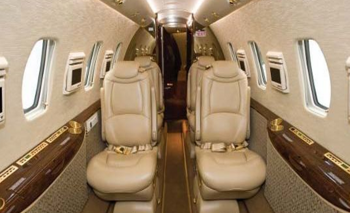 Cessna Citation XLS+ cabin