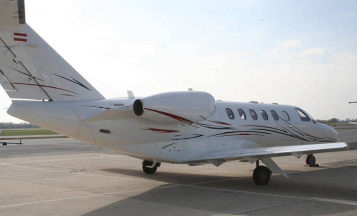 Cessna Citation CJ2+ exterior