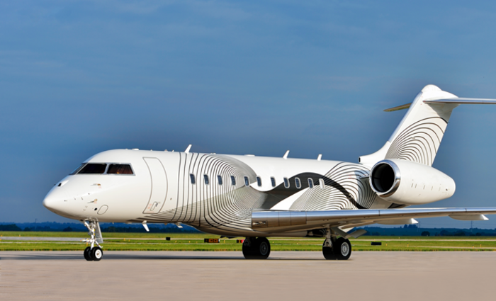 Bombardier Global 5000 exterior