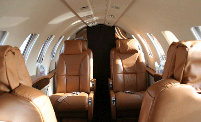 Cessna Citation CJ2+ Cabin